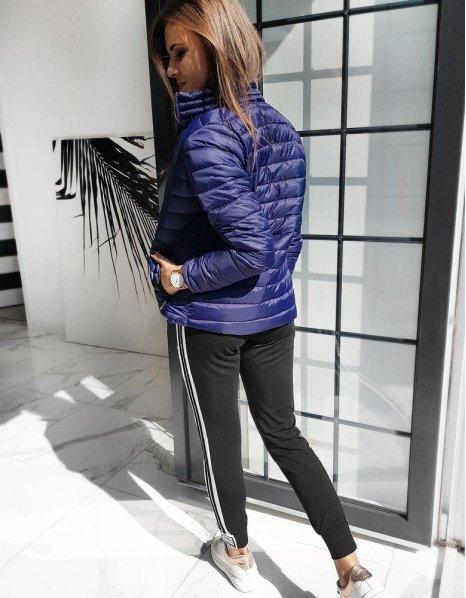 Dámska prešívaná bunda Emma tmavomodrá