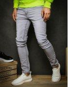 Svetlošedé pánske nohavice