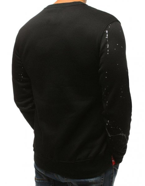 Mikina pánska s kapucňou čierna