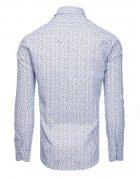 Biela pánska košeľa s dlhým rukávom