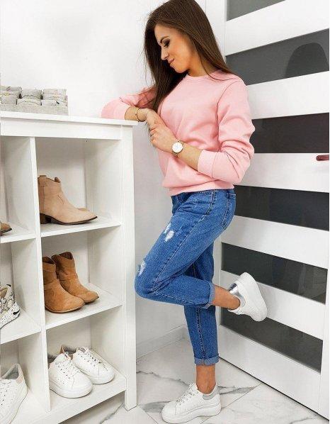Dámska ružová mikina Fashion II