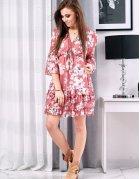 Broskyňové šaty Angello