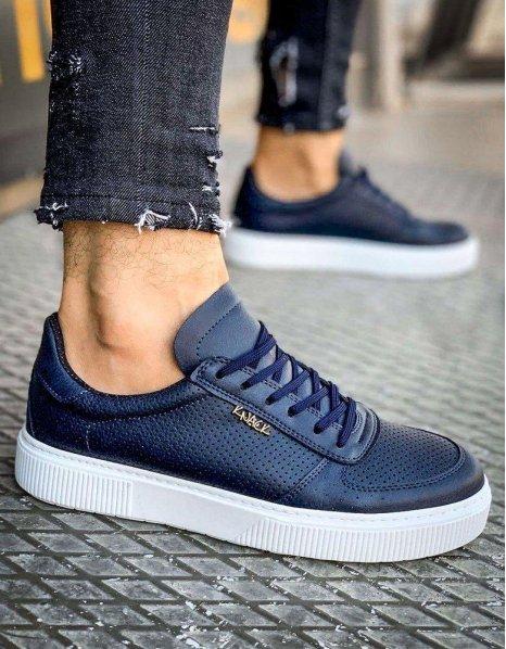 Modré pánske tenisky