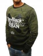 Zelená pánska mikina The Black Urban