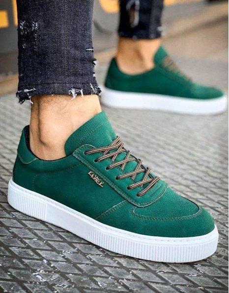 Zelené pánske tenisky