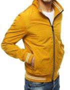 Žltá pánska prechodná bunda