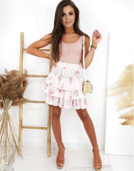 Ružová sukňa Selicia