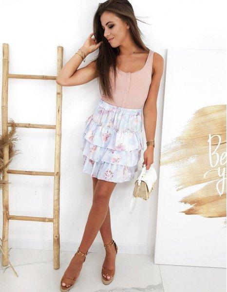 Blankytná sukňa Selicia