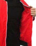 Červená pánska prechodná bunda