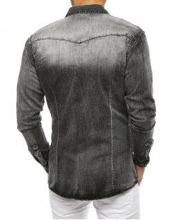 Pánsky šedý sveter 2