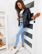 Čierna dámska bunda Stendy