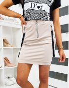 Béžová Fitons sukňa