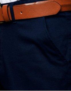 Košeľa pánska elegantná tmavomodrá