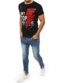 Nohavice džínsové pánske tmovomodré 7