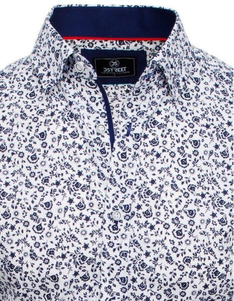 Biela pánska košeľa Premium s dlhým rukávom