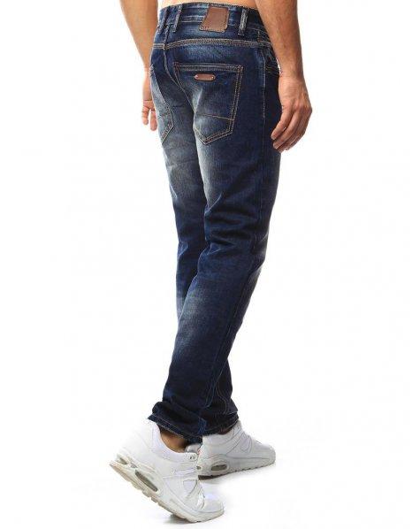 Tmavomodré riflové nohavice pánske