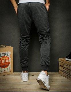 Košeľa pánska kockovaná šedo-čierna