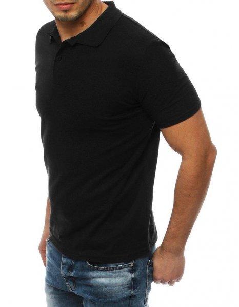 Čierna pánska polo košeľa