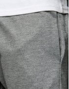 Šedé pánske teplákové nohavice