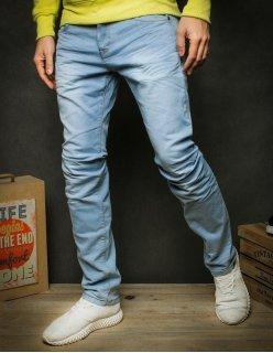 Nohavice džínsové pánske čierne 6
