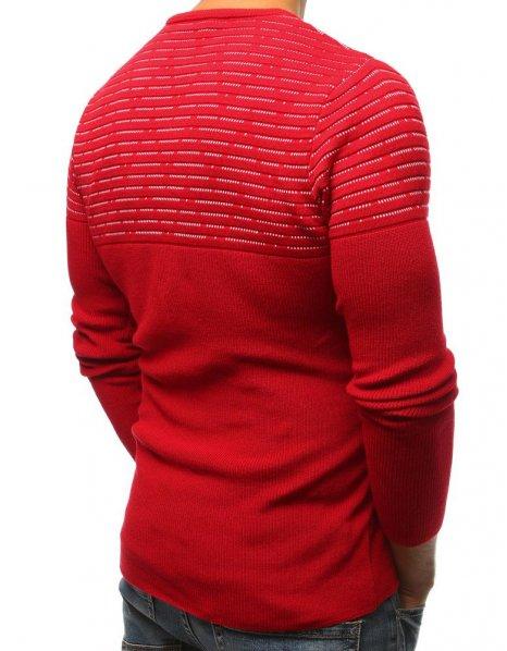 Pánsky červený sveter