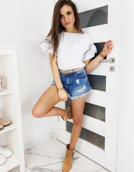 Biele dámske tričko Nice