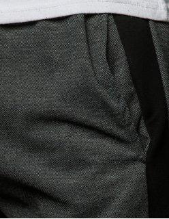 Pánske teplákové grafitové nohavice 4