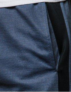 Nohavice pánske teplákové šedé 7