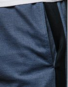 Pánske tmavomodré teplákové nohavice