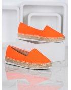 Oranžové klasické lodičky