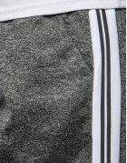 Tmavošedé pánske teplákové nohavice