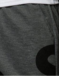 Pánske tričko s potlačou červeno-čierne