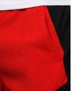 Pánske teplákové kraťasy červené