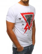 Biele tričko pánske s potlačou