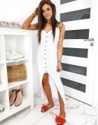Biele šaty Megans