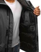 Grafitová pánska zimná bunda