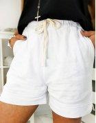 Biele dámske šortky Capi