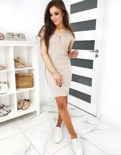 Béžové šaty Belindos
