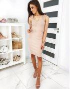 Béžové šaty Vinto