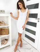 Biele šaty Vinto