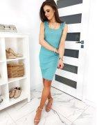 Morsky modré šaty Vinto