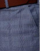 Tmavomodré pánske nohavice
