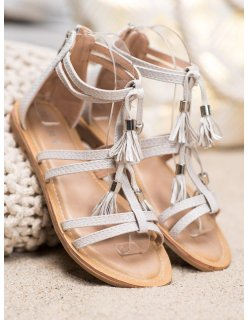 Dámske šedoružové športové topánky