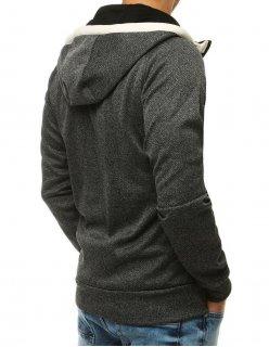 Pánske šedé tričko s potlačou Style and Citys