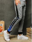 Svetlo-šedé pánske teplákové nohavice