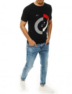 Čierne pánske tričko Small Team