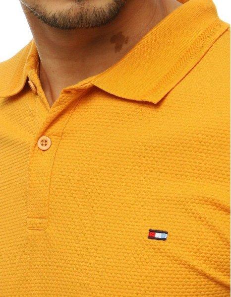 Žltá pánska Polo košeľa