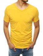 Žlté pánske tričko