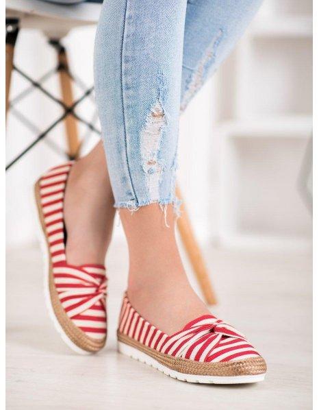 Bordové topánky New Age