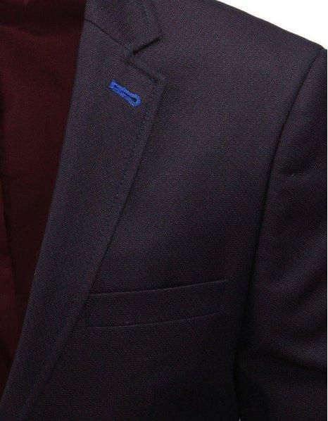 Bordové pánske sako